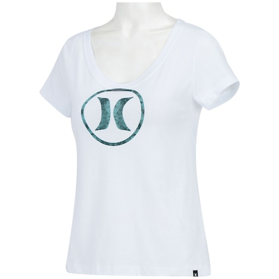 Camiseta Hurley Icon Block Party - Feminina