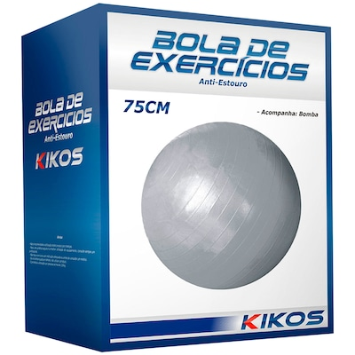Bola Suíça 75cm Kikos Fit Ball