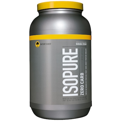 Isopure Low Carb - 1,361 Kg - Sabor Abacaxi, Laranja e Banana - Nature's Best