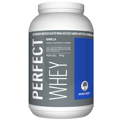 Perfect Whey Protein - 909 g - Sabor Baunilha - Natures Best