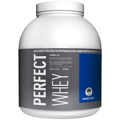 Perfect Whey Protein - 2,272 Kg - Sabor Baunilha - Natures Best