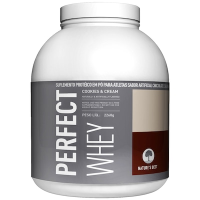 Prot Natures Best Perf Whey 5Lb Cookies