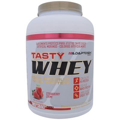 Whey Protein Adaptogen Science Tasty Whey - Morango - 2,26Kg