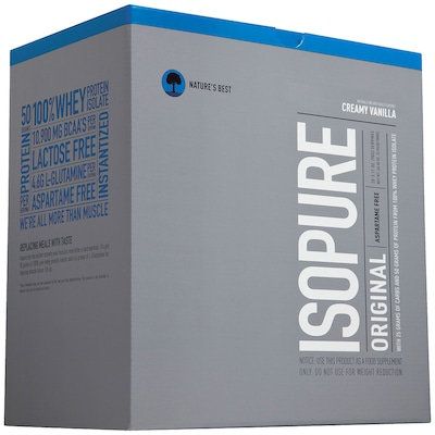 Isopure Packs - 1.740 g - Sabor Baunilha - Natures Best