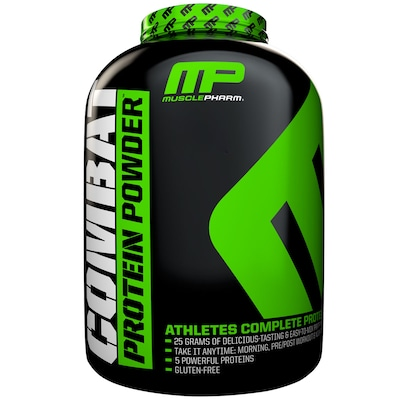 Whey Protein Muscle Pharm Combat Protein Powder - Cookies e Creme - 2,26Kg