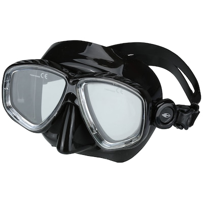 Kit de Mergulho Mormaii Scura com Máscara e Snorkel - Adulto