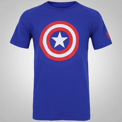 Camiseta Under Armour Capitão América - Masculina