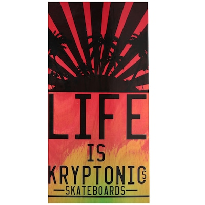 Skate Kryptonics Cruiser Life 30""