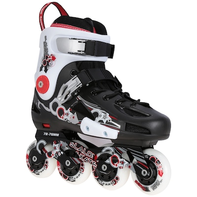 Patins Oxer CR317 - In Line - Freestyle / Slalom - ABEC 7 - Base de Alumínio