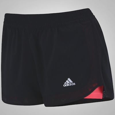 Short adidas Duplo Gym Basic - Feminino