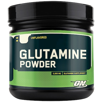 Glutamina Optimum Nutrition Glutamine Powder – 600g – Sem Sabor -Unflavored