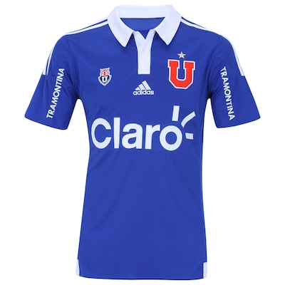 Camisa do Universidad de Chile I 2015 s/n° adidas