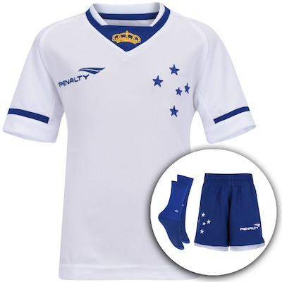 Kit Uniforme do Cruzeiro II 2015 Penalty – Infantil