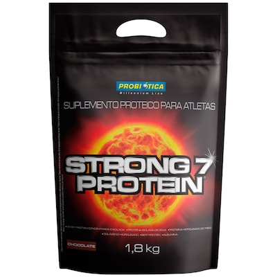 Whey Protein Probiótica Strong 7 Protein - Chocolate - 1,8Kg