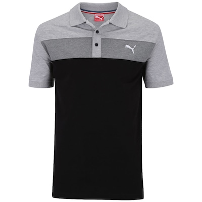 Camisa Polo Puma Fun Big Block Pique – Masculina