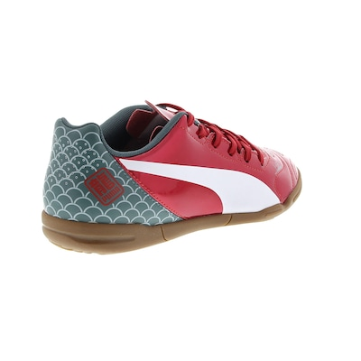 Chuteira de Futsal Puma Evopower 4.2 Graphic IT – Infantil
