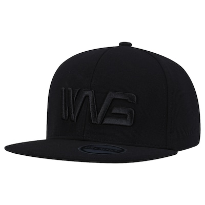 Boné Aba Reta Wg All Black - Snapback - Adulto