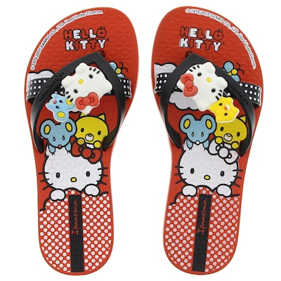 Chinelo Ipanema Hello Kitty Friends - Infantil