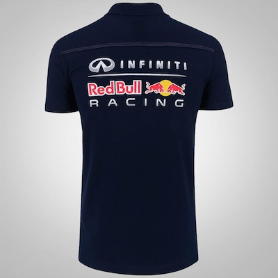 Camisa Polo Red Bull Racing Color - Masculina