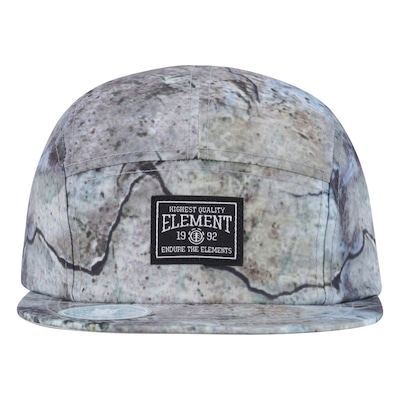 Boné Aba Reta Element Vigor - Strapback - 5 Panel - Adulto