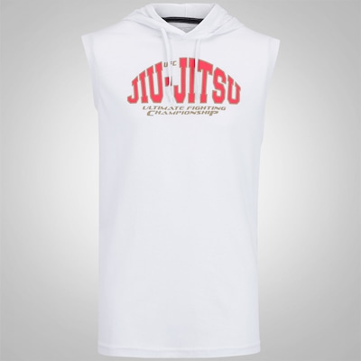 Camiseta Regata UFC Ready For It Com Capuz - Masculina