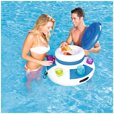 Cooler Inflável para Piscina Bestway Lounge Floating