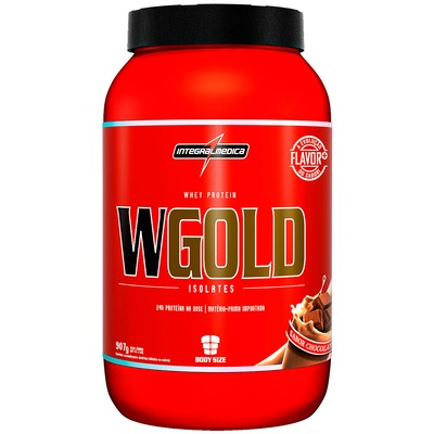 Whey Protein Integralmédica WGold Isolates - Chocolate - 907g