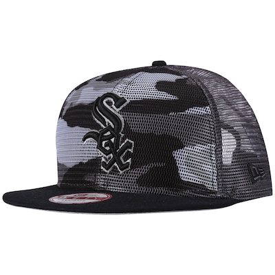 Boné Aba Reta New Era Chicago White Sox - Snapback - Trucker - Adulto