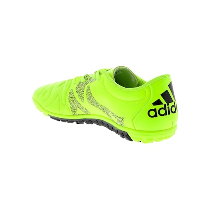 Chuteira Society adidas X 15.3 TF Leath - Adulto