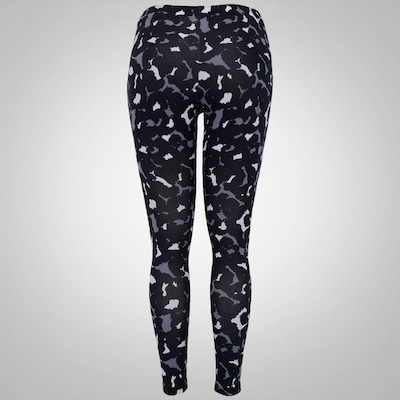 Calça Legging Estampada Nike Club Cropped - Feminina