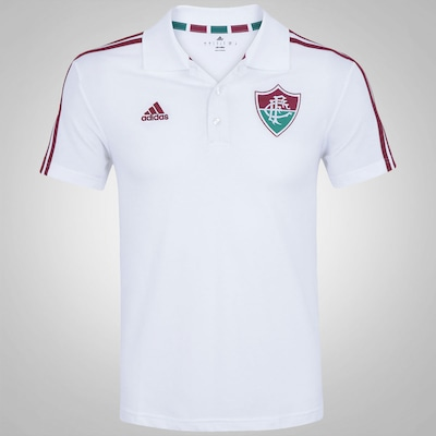 Camisa Polo do  Fluminense adidas - Masculina