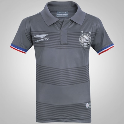 Camisa do Bahia III 2015 n°10 Penalty - Infantil