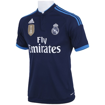 Camisa do Real Madrid III WC 15/16 s/nº adidas