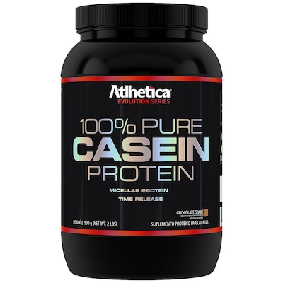 Proteina Atlhetica 100% Pure Casein Protein - Chocolate - 900g