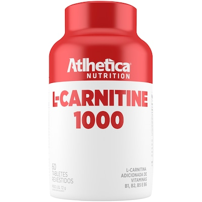 Carnitina Atlhetica L-Carnitine 1000 - 60 Tabletes