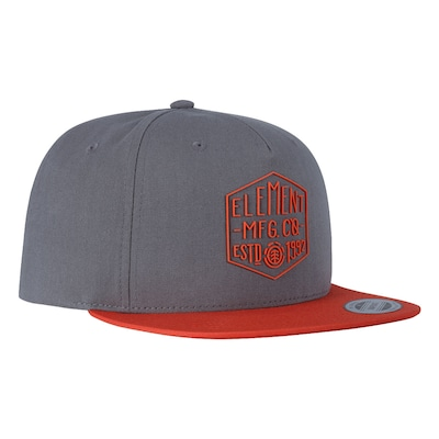 Boné Aba Reta Element Distort Classics - Snapback - Adulto