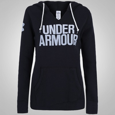 Blusão com Capuz Under Armour Favorite Wordmark - Feminino