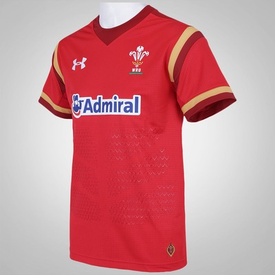 Camisa do Welsh Rugby Union 15/16 Under Armour - Torcedor