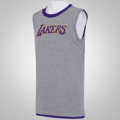 Camiseta Regata Reversível adidas NBA Los Angeles Lakers - Infantil