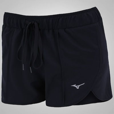 Shorts Mizuno Wave Run Split - Feminino