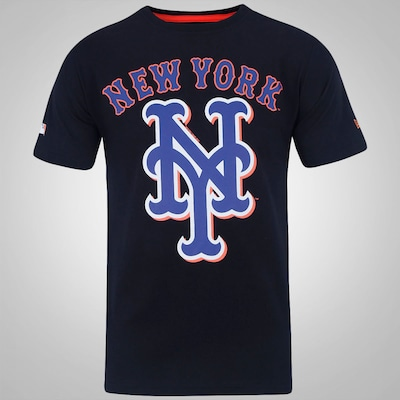 Camiseta New Era Basic New York Mets - Masculina