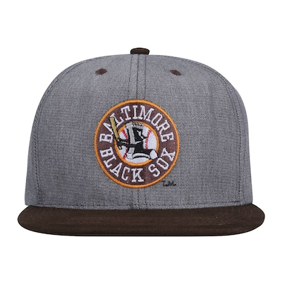 Boné Aba Reta League Baltimore Black Sox - Snapback - Adulto