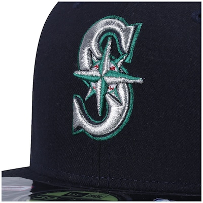 Boné Aba Reta New Era Seattle Mariners - Fechado - Adulto