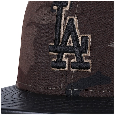 Boné Aba Reta New Era Los Angeles Dodgers - Fechado - Adulto