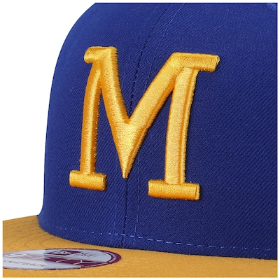 Boné Aba Reta New Era Milwaukee Brewers - Snapback - Adulto