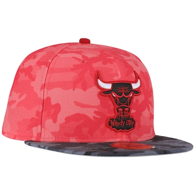 Boné Aba Reta New Era Chicago Bulls - Fechado - Adulto