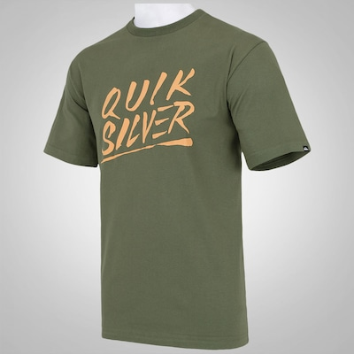 Camiseta Quiksilver The Splash Script - Masculina