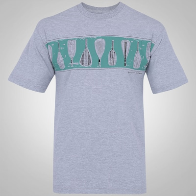 Camiseta Quiksilver Standing Waves - Masculina
