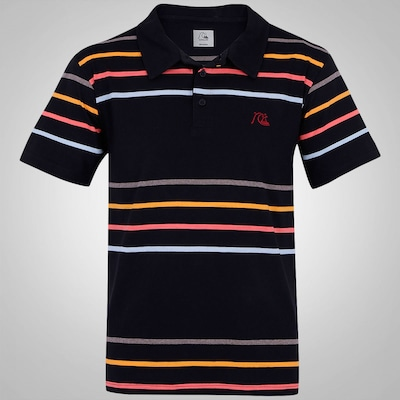 Camisa Polo Quiksilver Church Island - Masculina