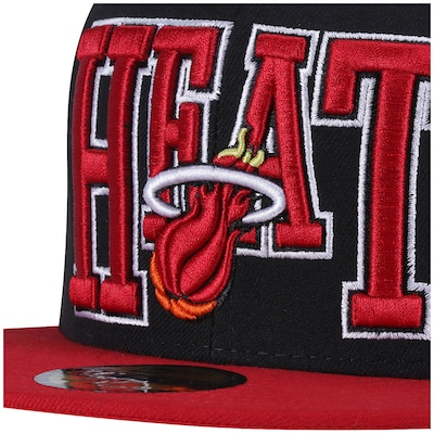 Boné Aba Reta New Era Miami Heat - Fechado - Adulto